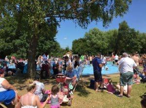 Swanley Park in summer